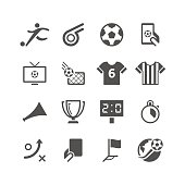 Unique soccer related icon can beautify your designs & graphic
