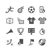 Soccer Icon Set | Unique Series