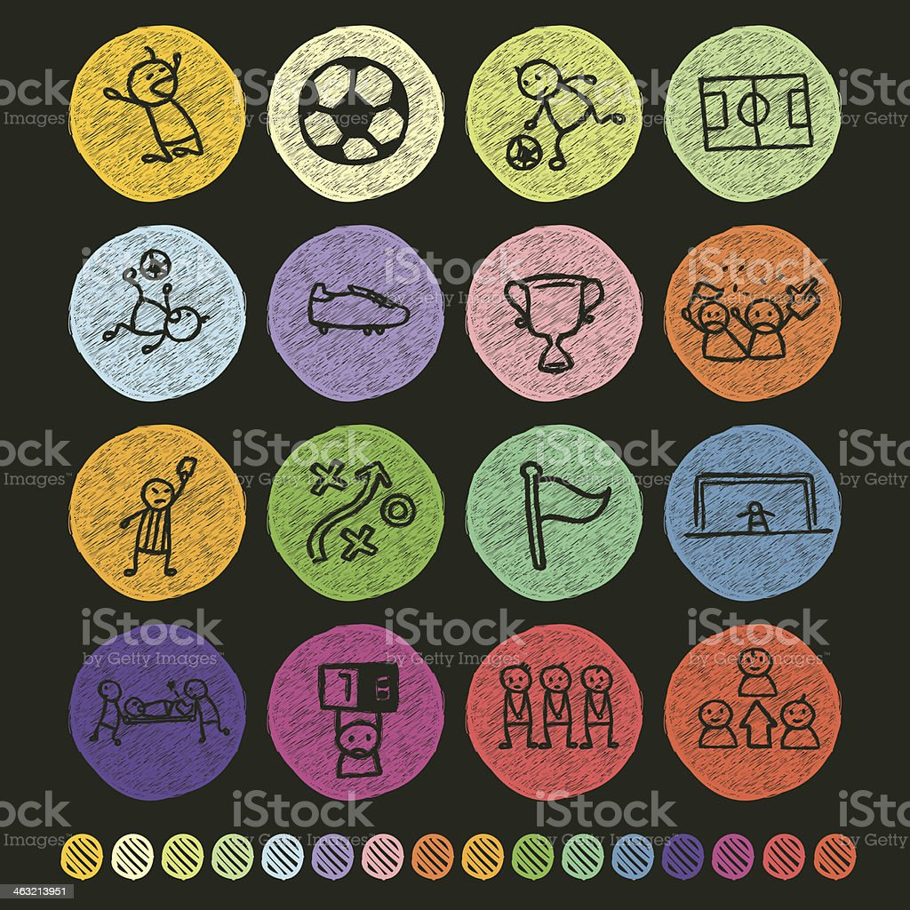 Soccer Icon royalty-free stock vector art