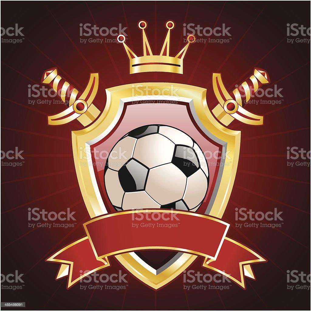 Soccer insignia royalty-free stock vector art