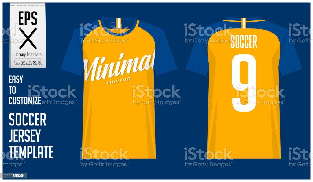 b05108cc7 Soccer Jersey Football Kit Or Tshirt Sport Template Design In ...