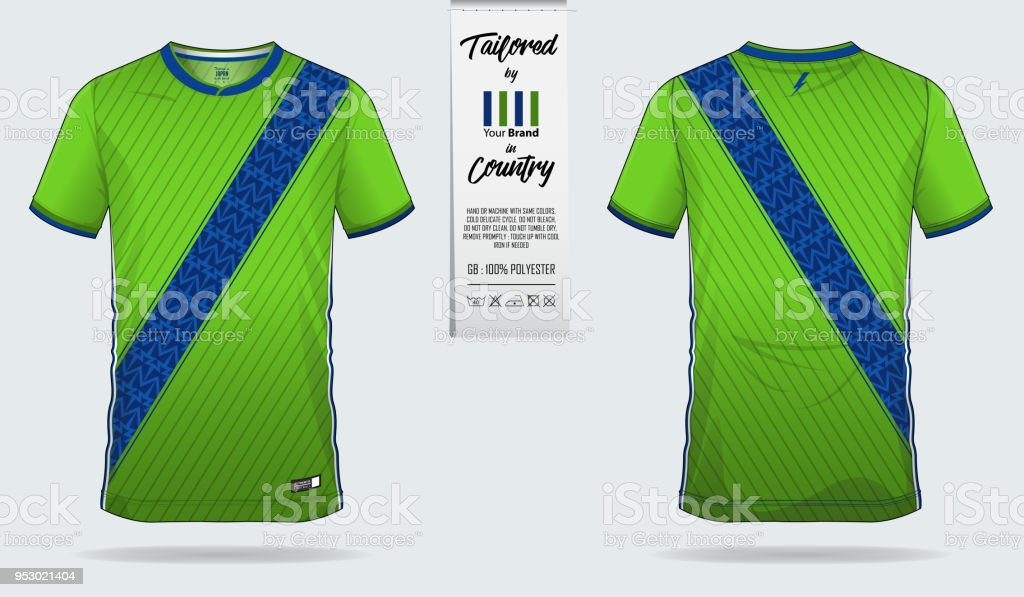 Soccer Jersey Football Kit Tshirt Sport Short Sock Template Design