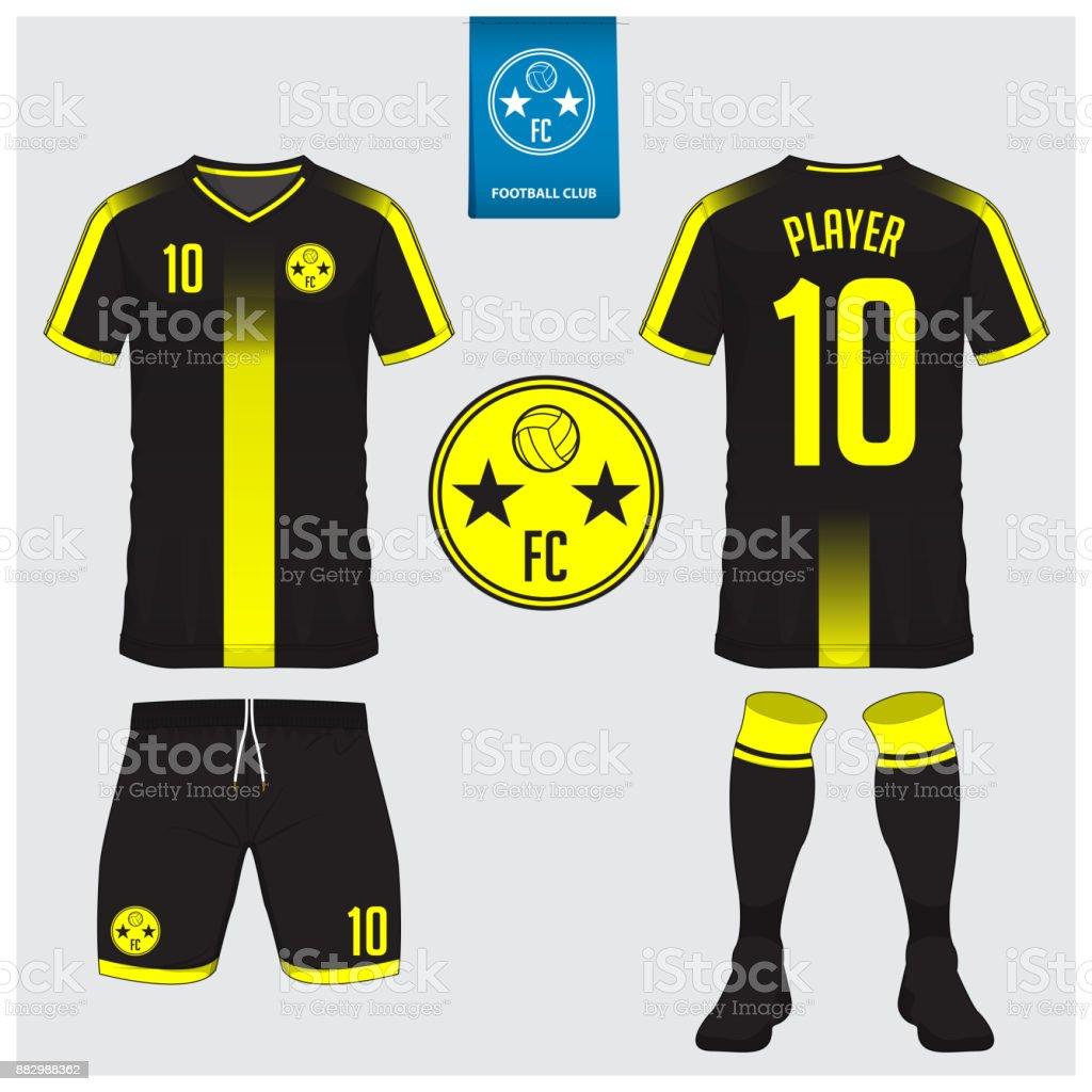 soccer jersey football kit tshirt sport short sock template for