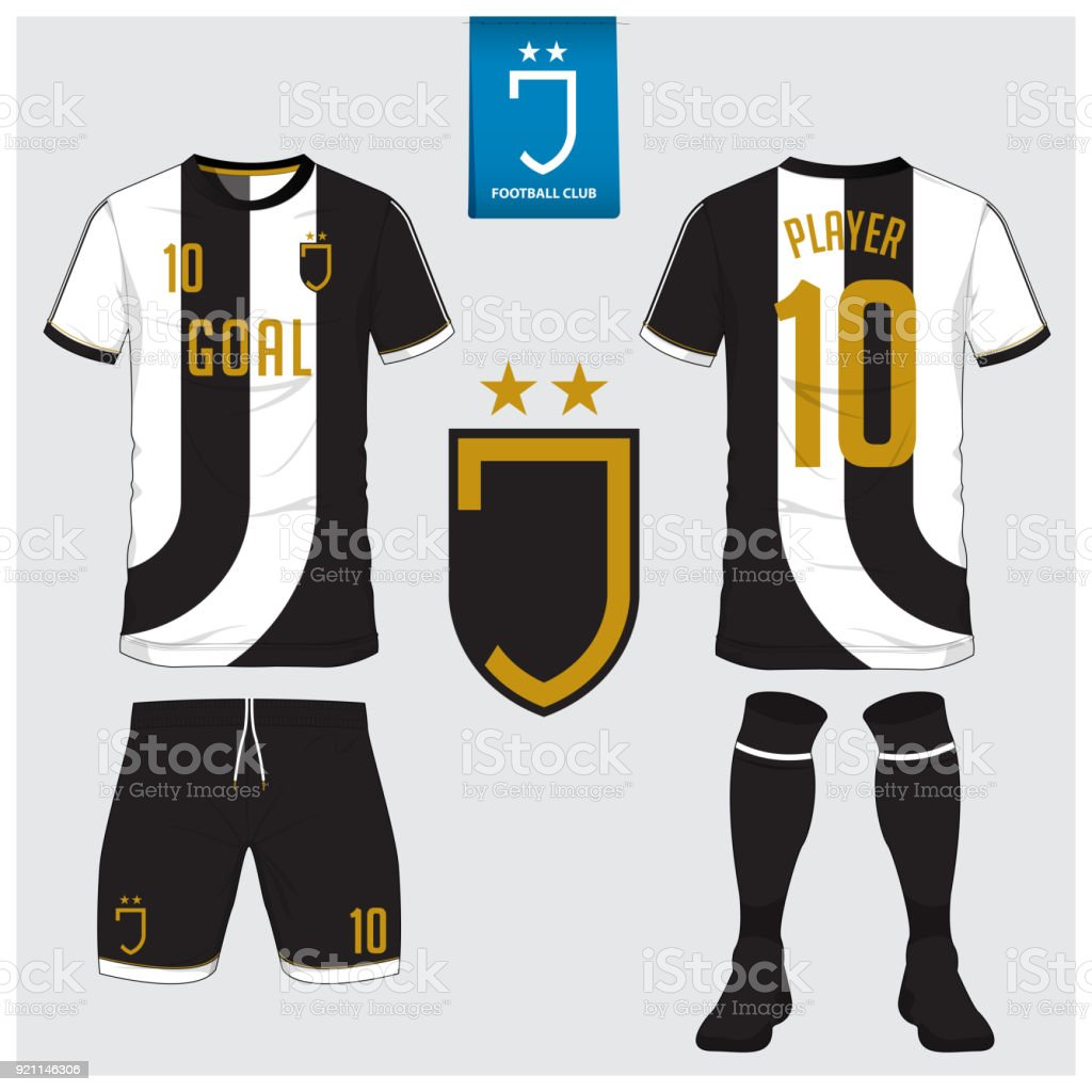 3582684a0e Ilustração de Camisa De Futebol Kit De Futebol Esporte De Tshirt ...