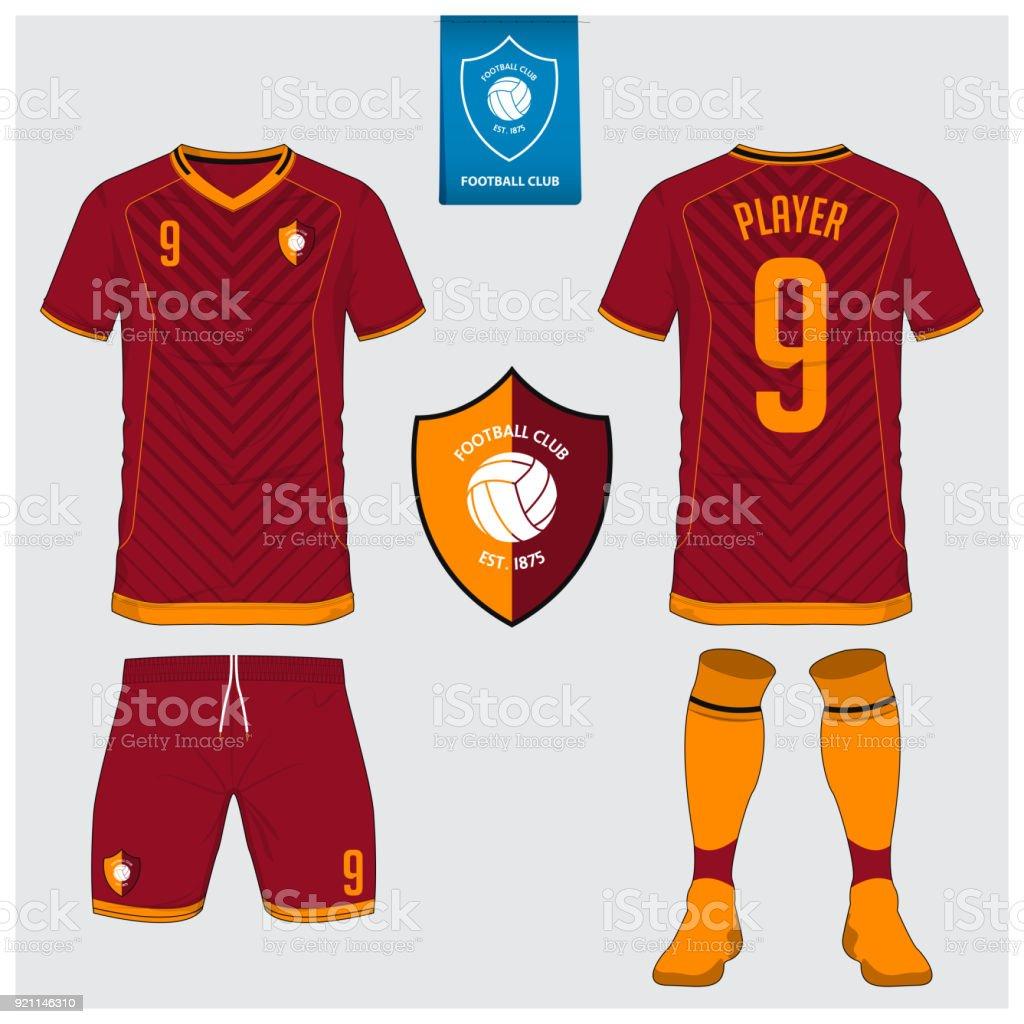 Camiseta De Fútbol Kit Del Balompié Deporte Camiseta Corta Plantilla ...