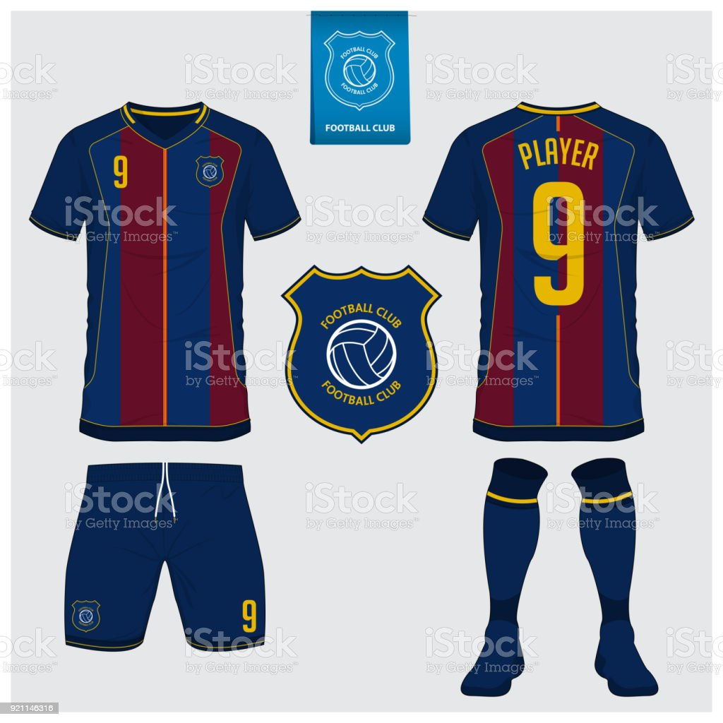 soccer jersey football kit tshirt sport short sock template for