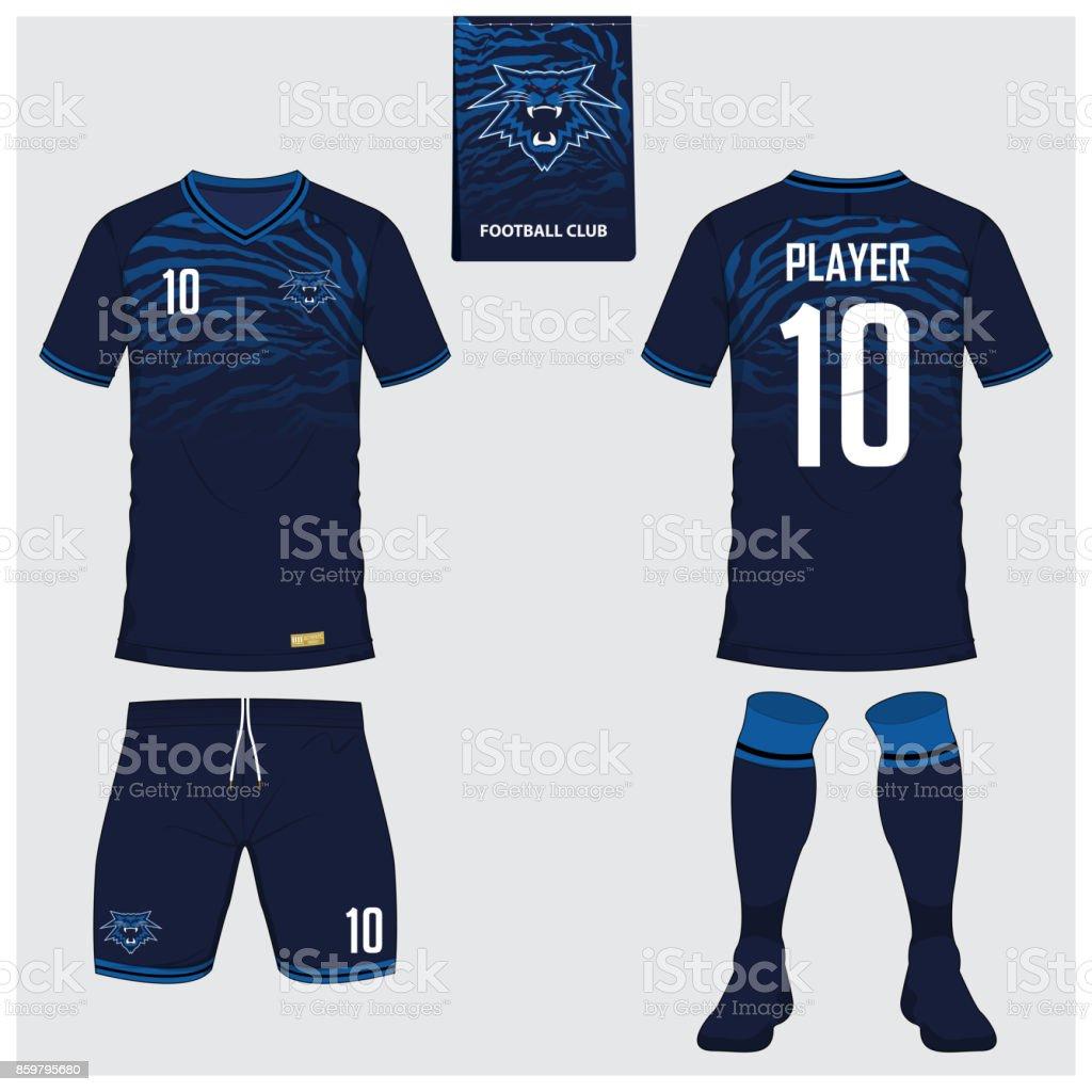 sale retailer bb6b5 a8693 Soccer Jersey Or Football Kit Short Sock Template For Sport ...