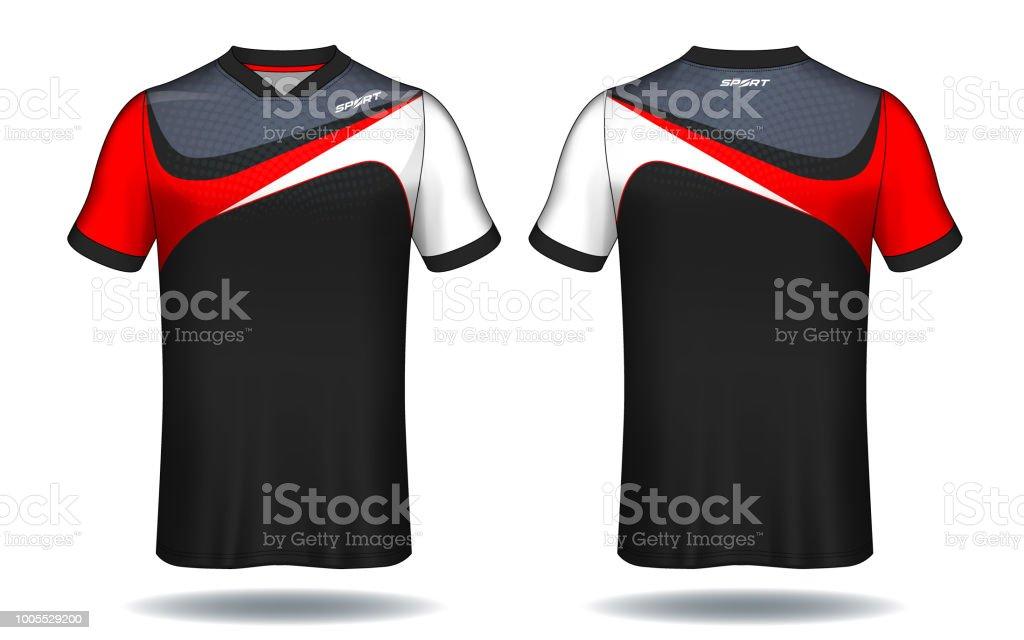 soccer jersey templatesport tshirt design stock vector art more