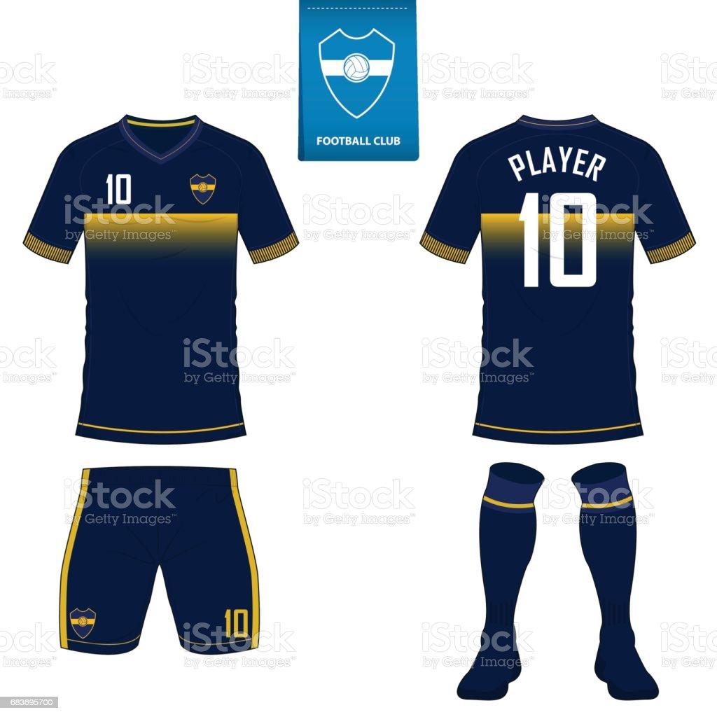 059acd97e76 Soccer kit football maillot modèle ou pour le club de football. Maillot de  foot manche