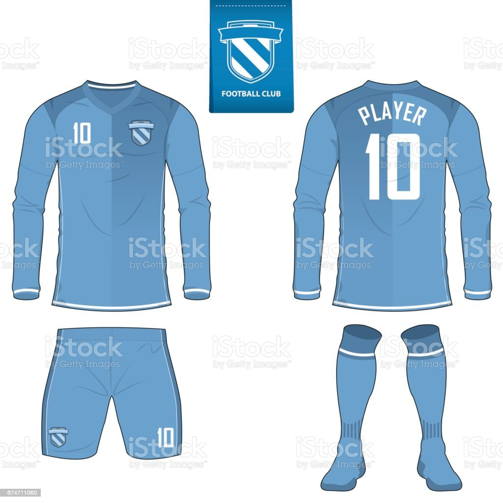 Soccer Kit Or Football Jersey Template For Club Royalty Free