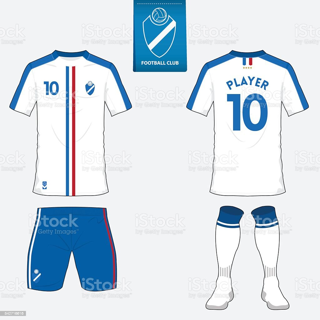 1b4862d0dc15ab Soccer kit or football jersey template. Front