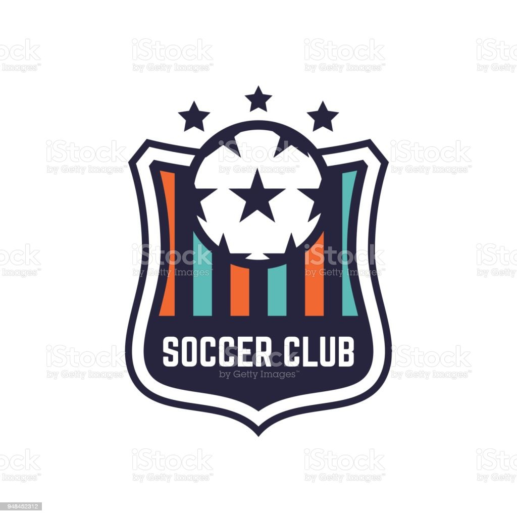 Soccer Or Football Club Or Badge Stock Vector Art More Images Of