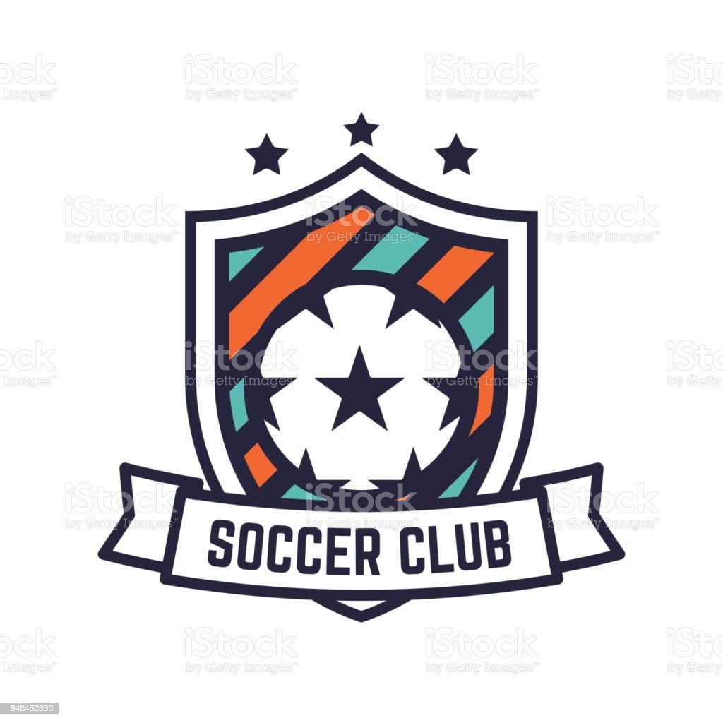 Soccer Or Football Club Or Badge. Royalty Free Soccer Or Football Club Or  Badge