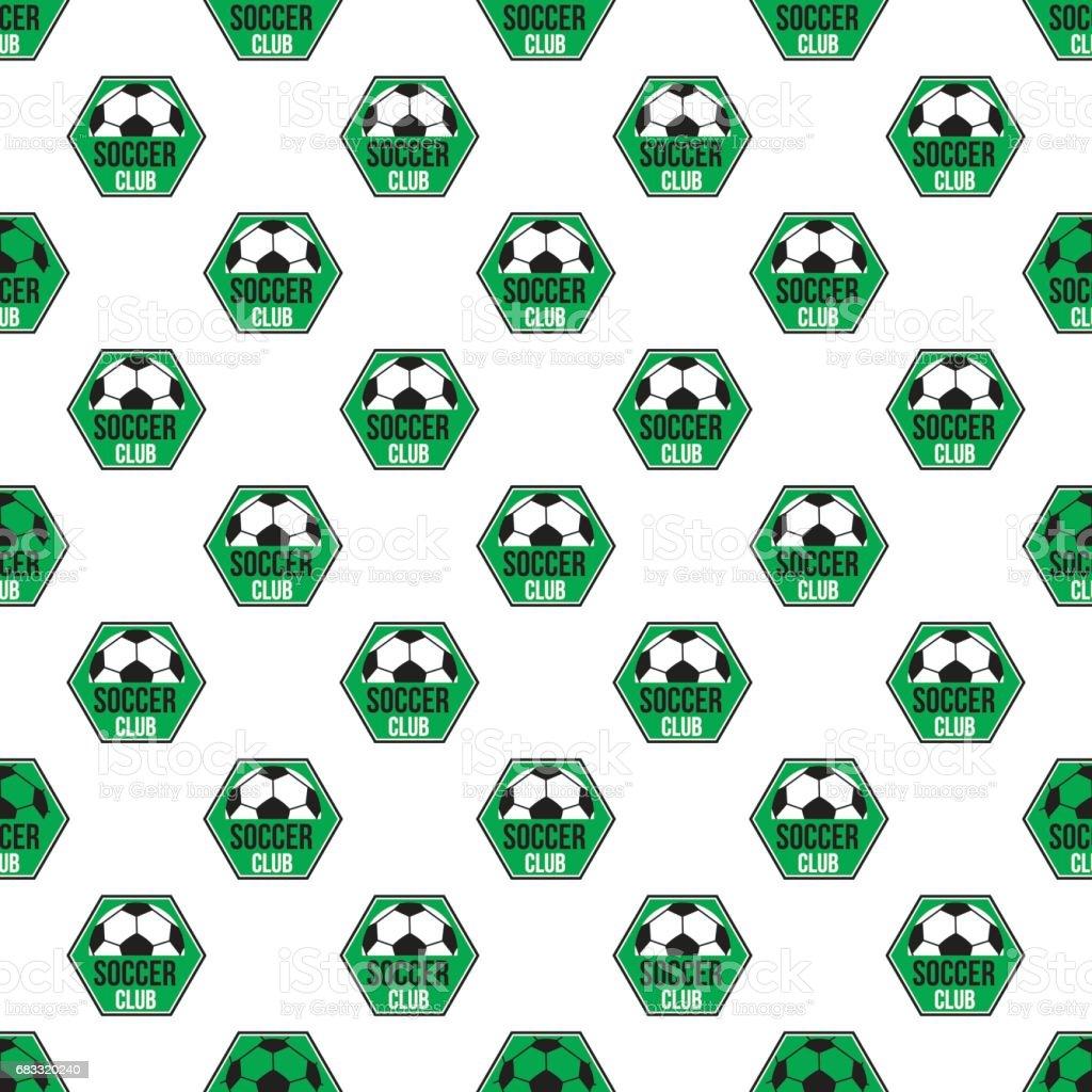 Soccer pattern seamless royalty free soccer pattern seamless stockvectorkunst en meer beelden van achtergrond - thema