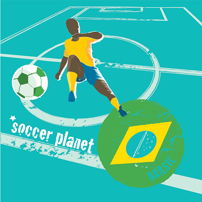 soccer planet background