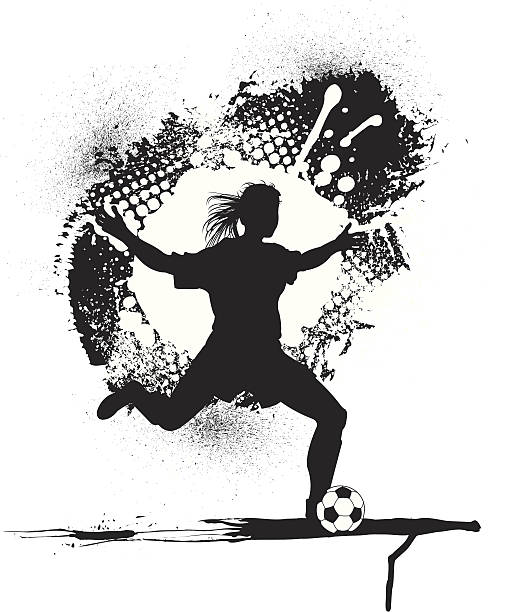 Royalty Free Female Soccer Clip Art, Vector Images ...