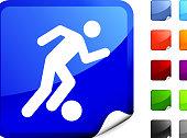 soccer player internet icon