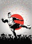 Soccer player Japan