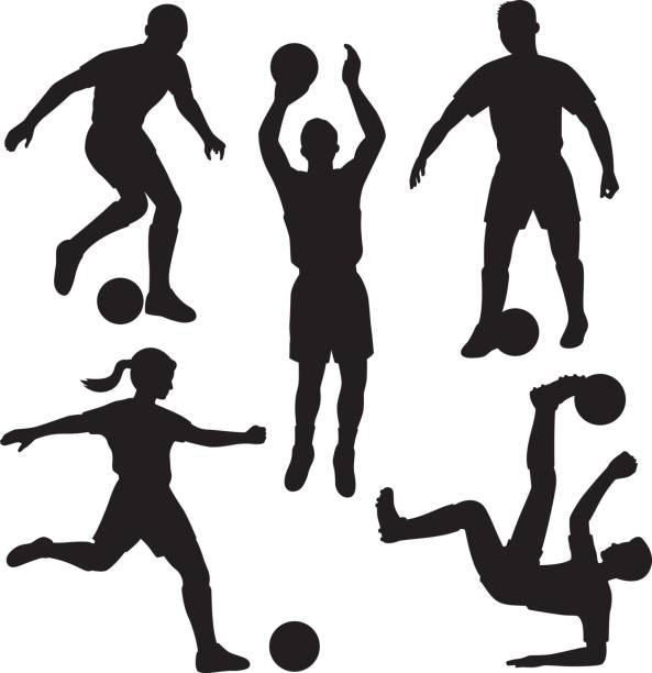Best Bicycle Kick Illustrations, Royalty-Free Vector ...