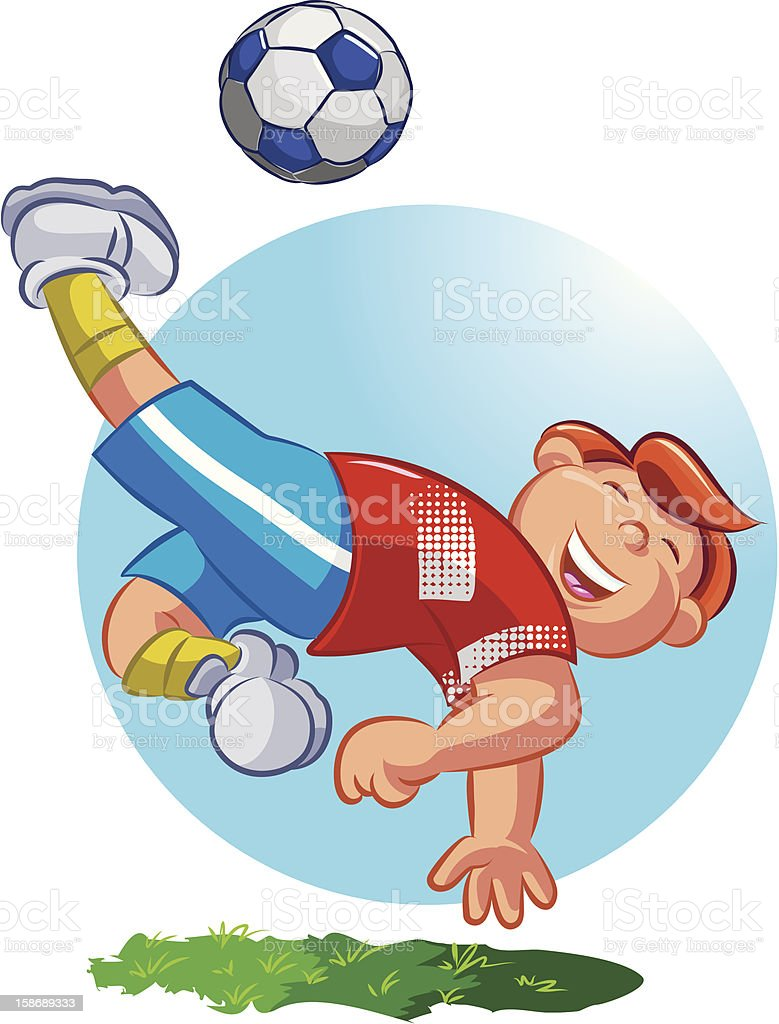 Soccer Player royalty-free soccer player stock vector art & more images of activity