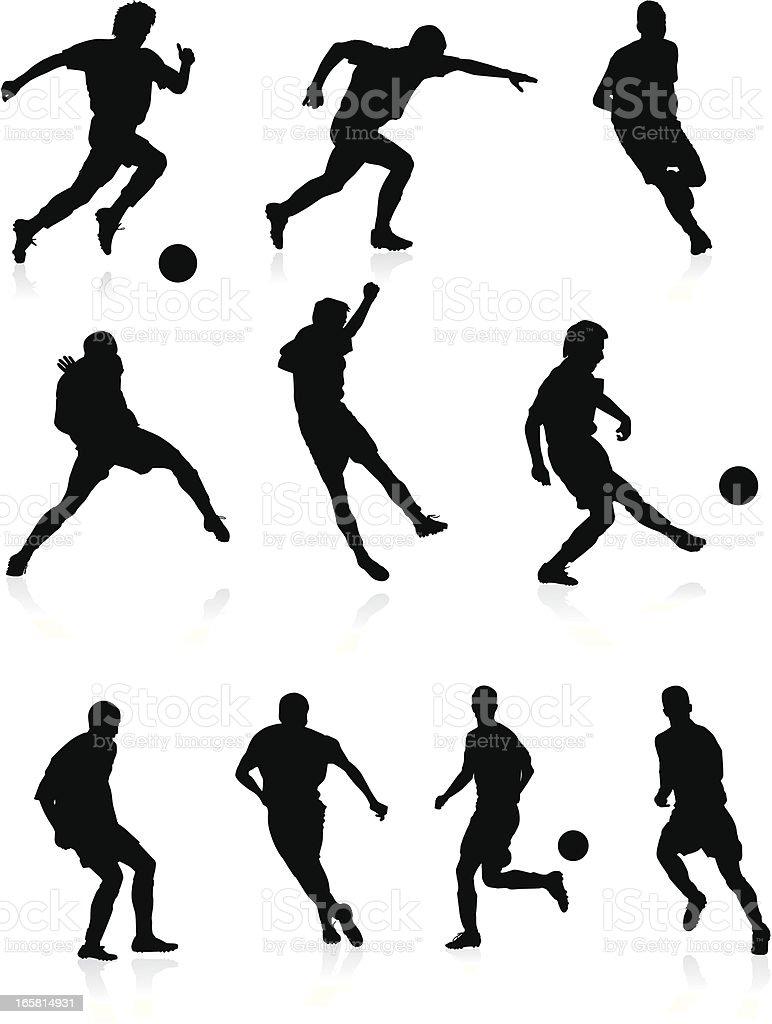 Chalk Stil, Fußball Interview Vektor Clipart Bild -vc001470-CoolCLIPS.com