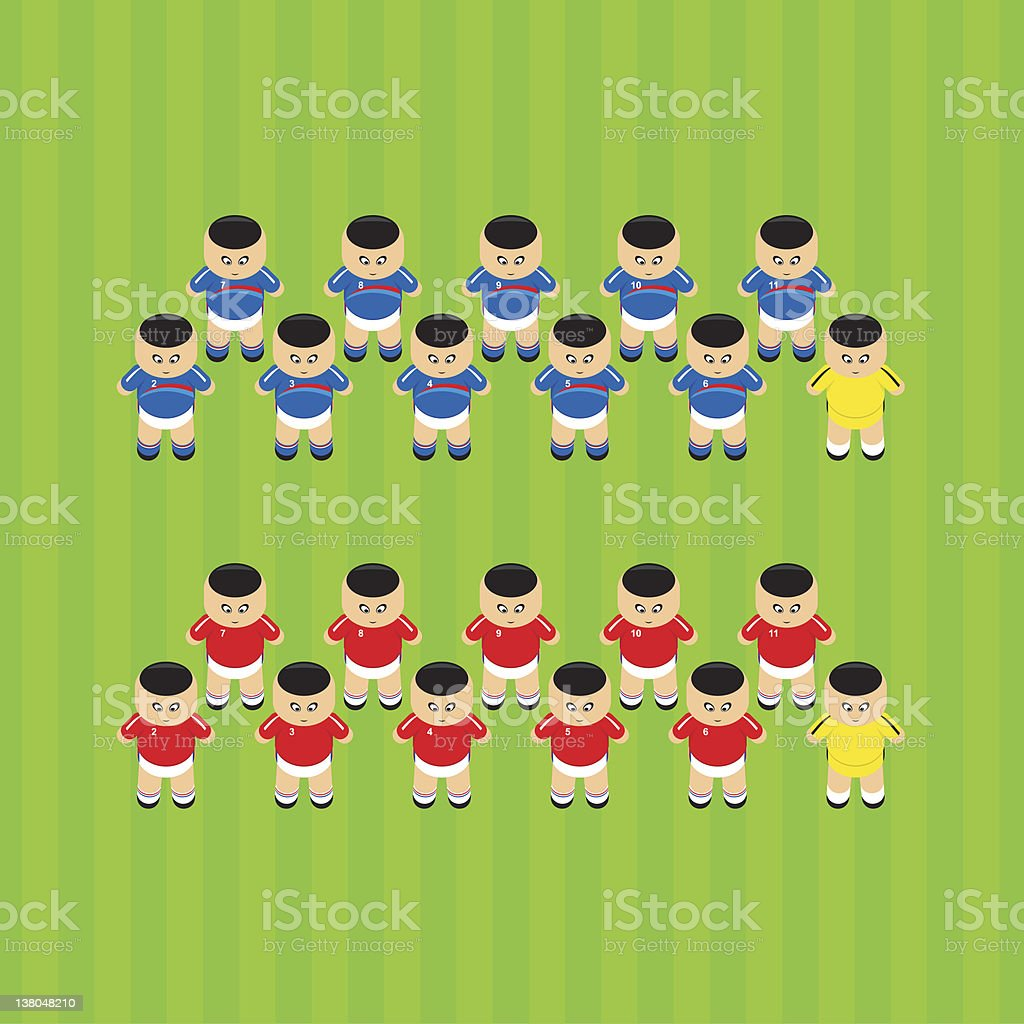 soccer players France royalty-free soccer players france stock vector art & more images of adult