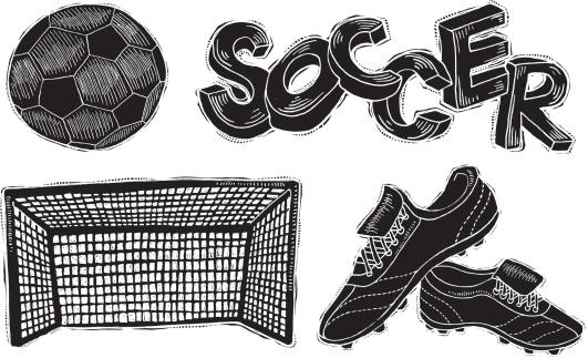 Soccer Reverse Ink