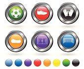 soccer royalty free vector icon set