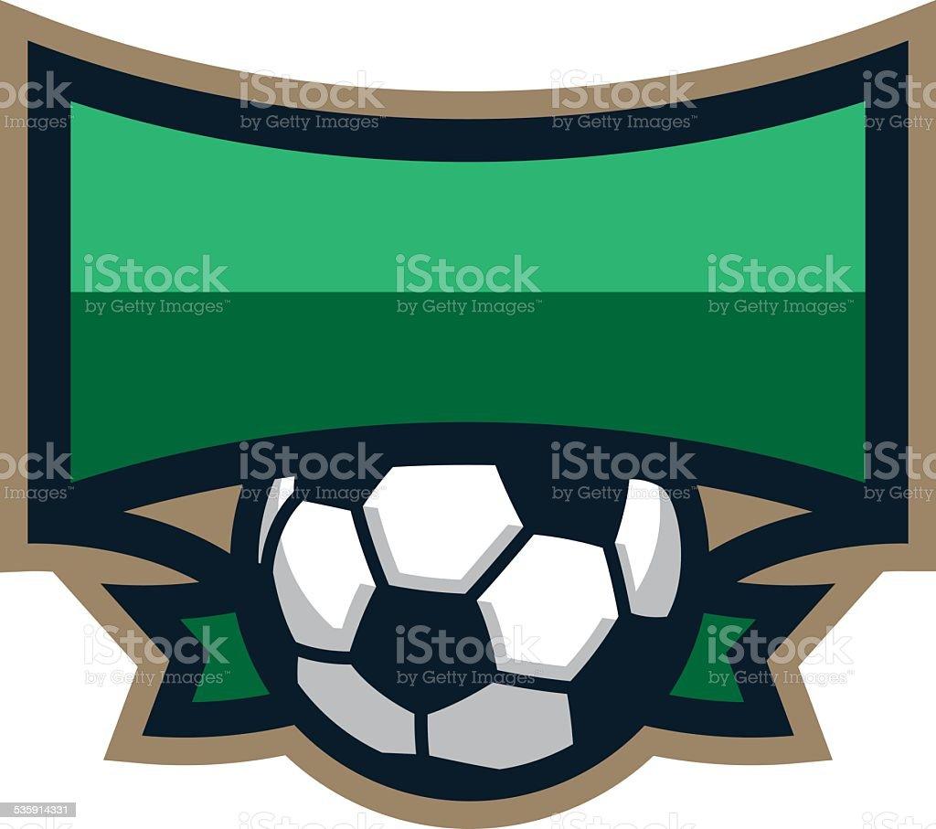Soccer Shield Logo royalty-free soccer shield logo stock vector art & more images of 2015