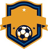 Perfect for your soccer team, league or event. Customize with your own text and colors.