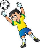 Soccer theme image 2 - eps10 vector illustration.