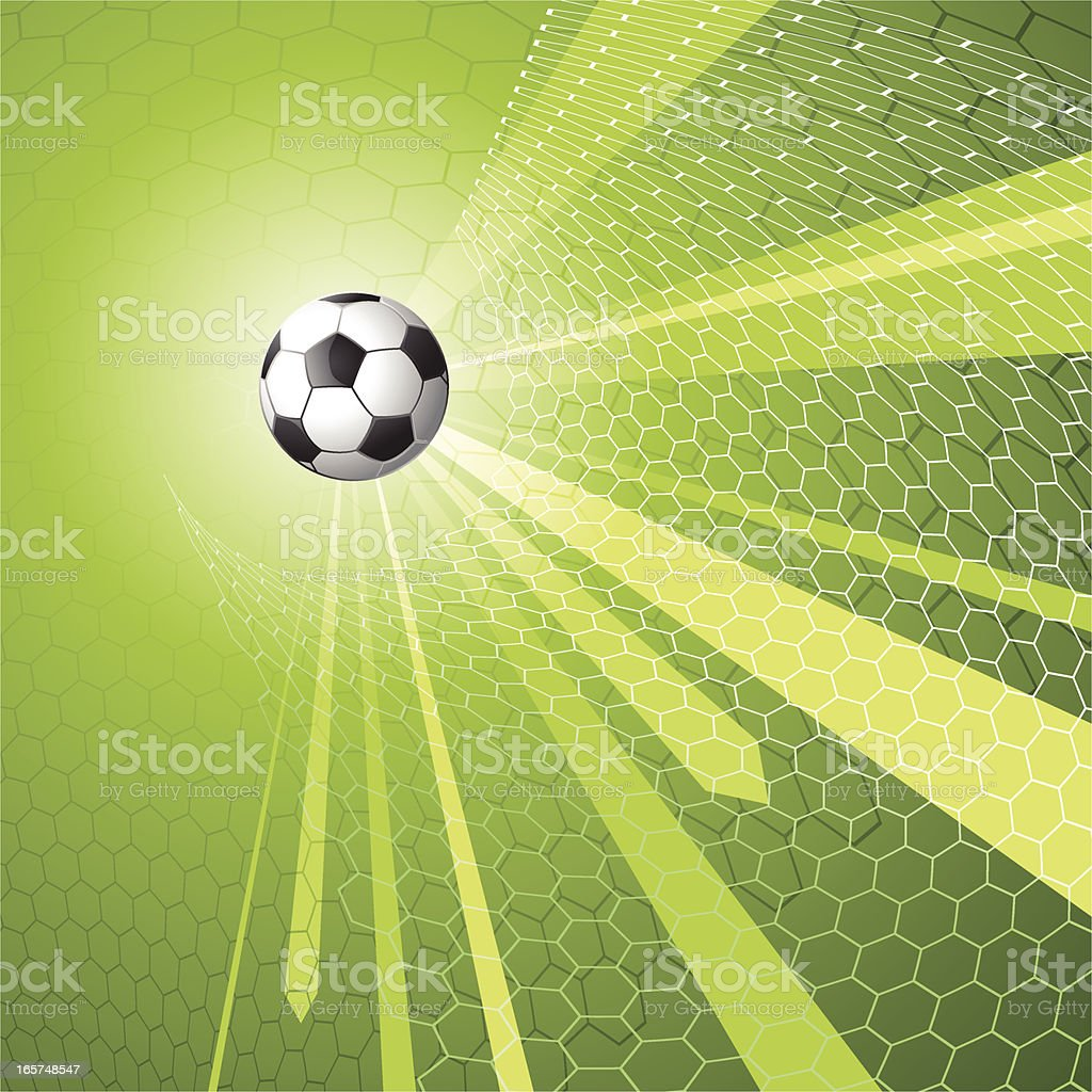 Soccer themed background image vector art illustration