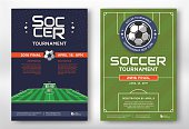 Soccer tournament posters