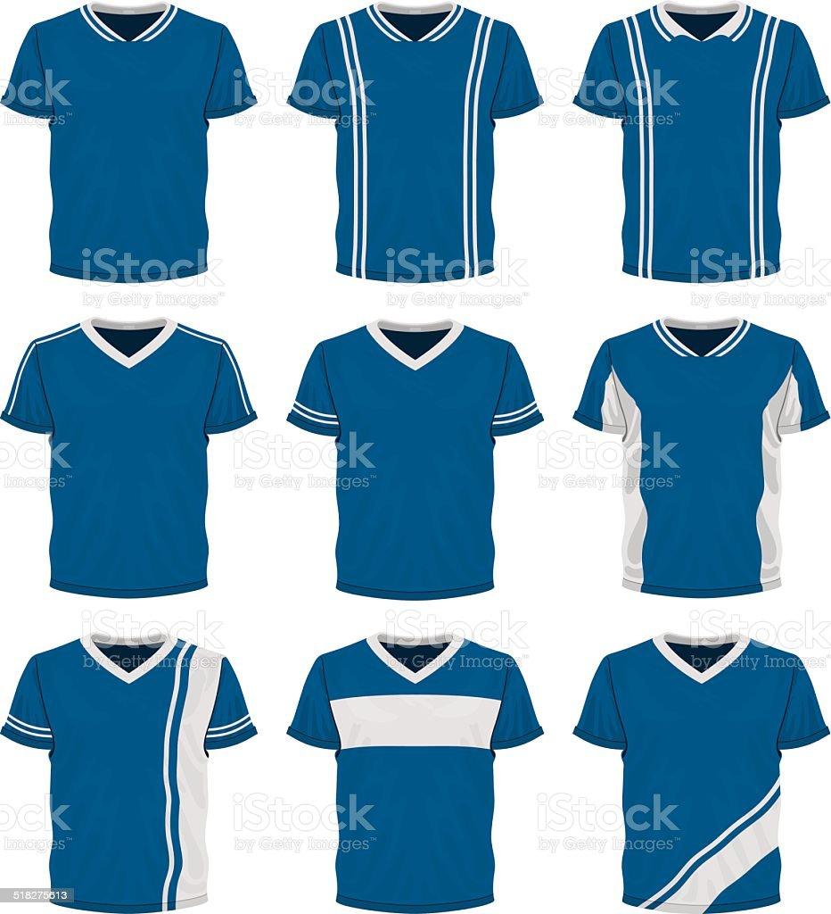 Soccer Uniforms vector art illustration