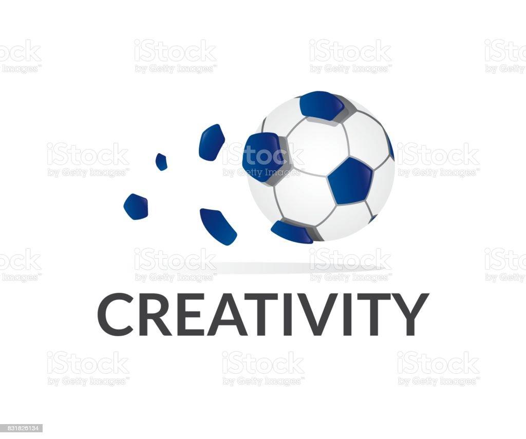 Soccer vector icon vector art illustration