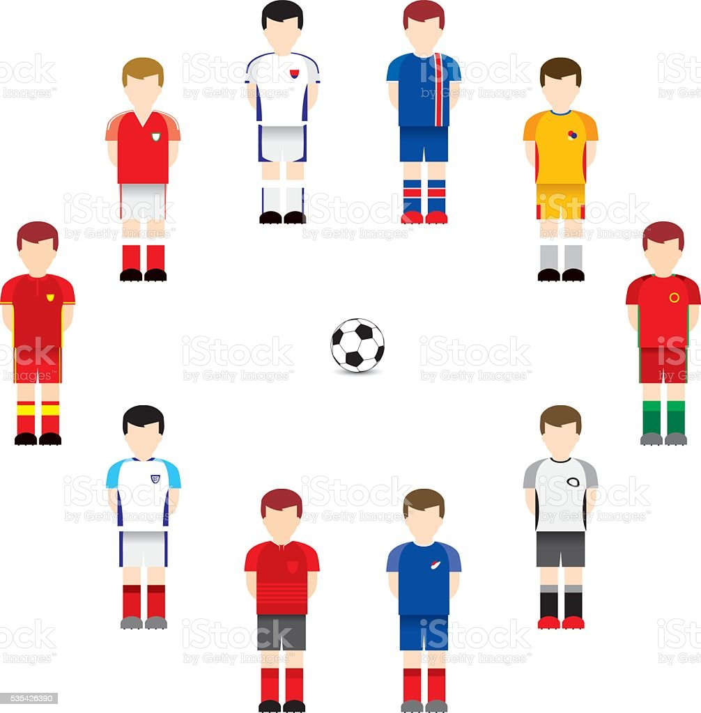 De football - Illustration vectorielle