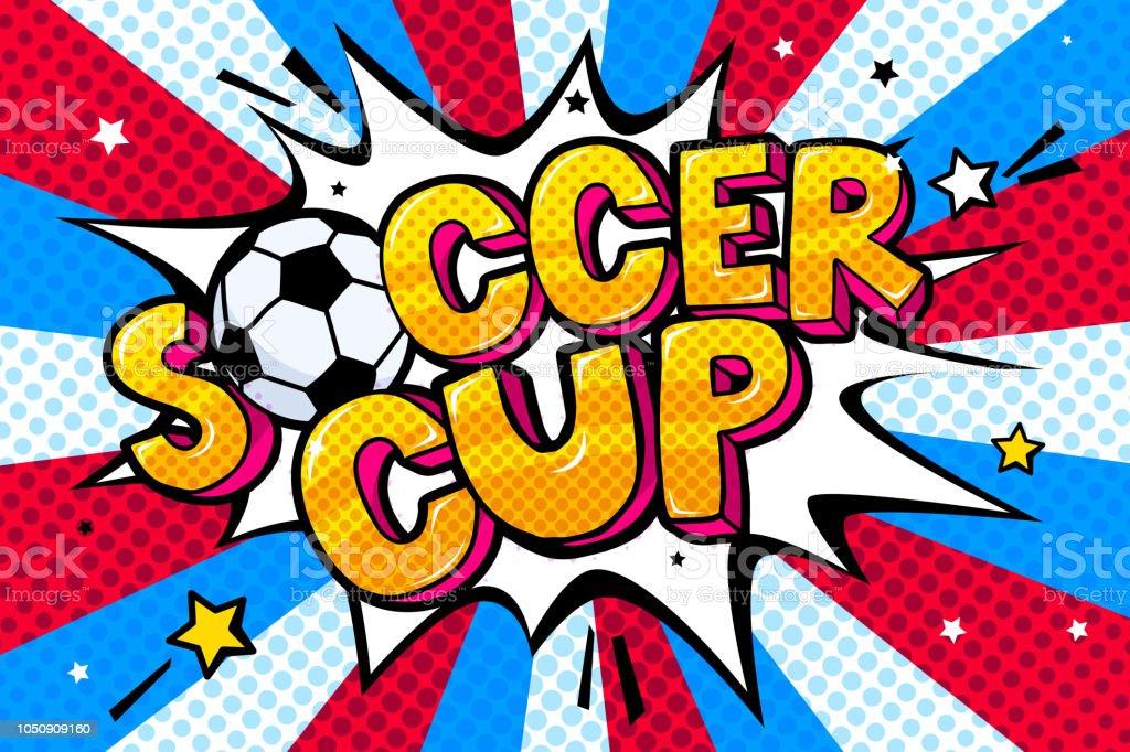Copa do mundo de 2018 - ilustração de arte em vetor