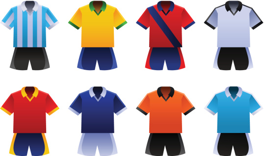 Soccer World Cup Uniforms