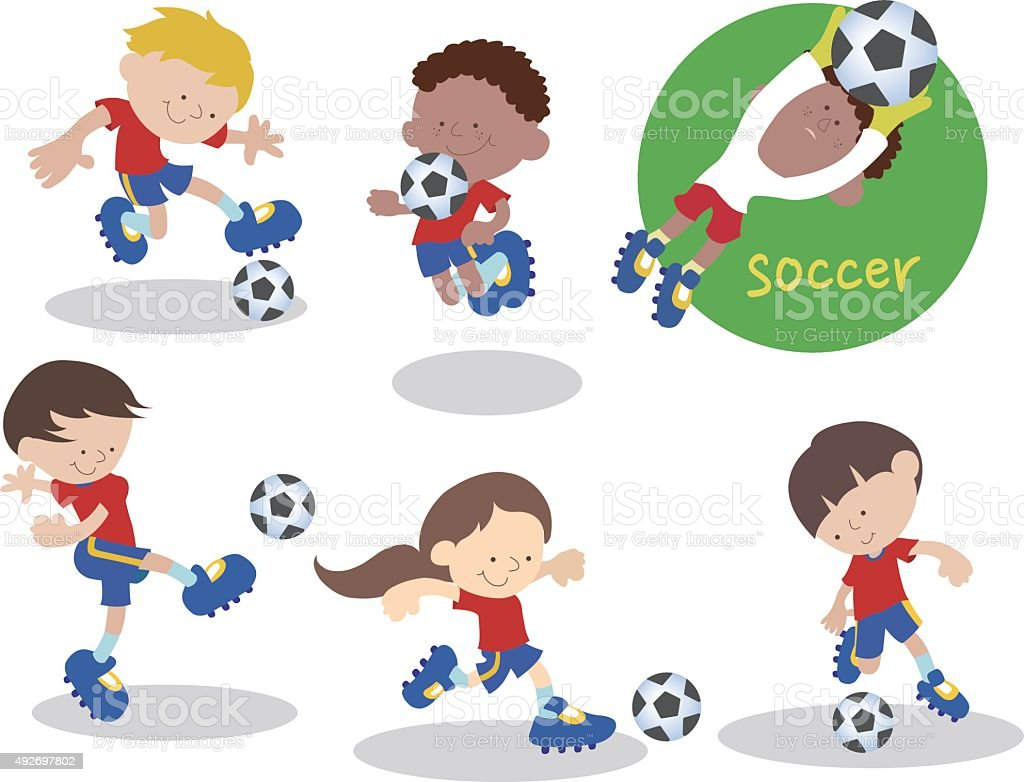 Soccerteam_02 – Vektorgrafik