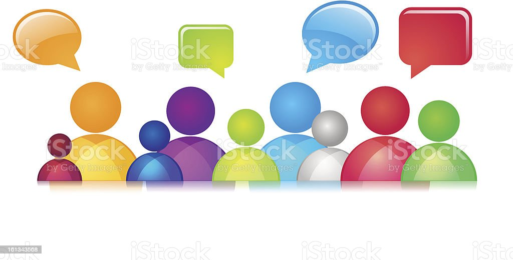 Social Communication royalty-free social communication stock vector art & more images of abstract