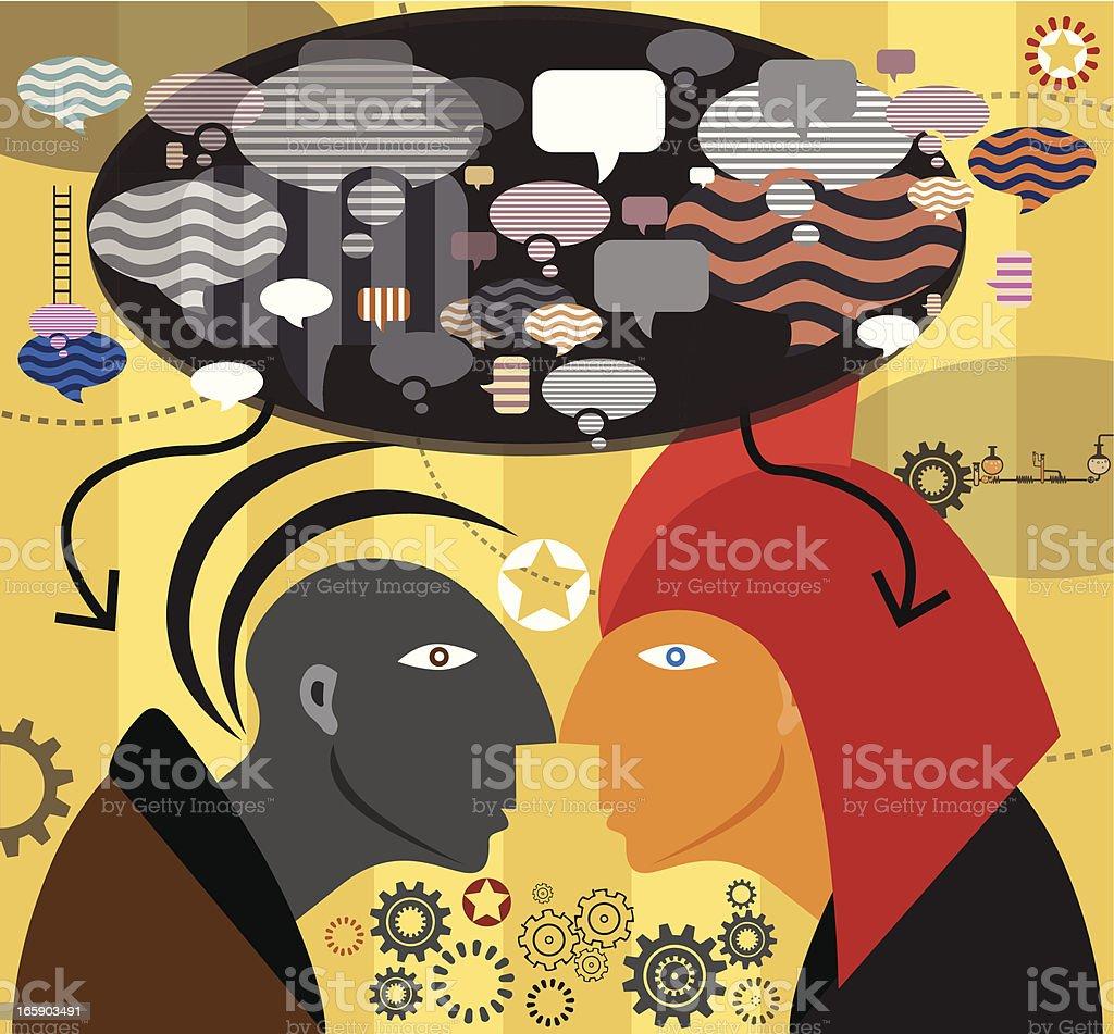Social Community royalty-free stock vector art