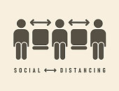 istock Social Distancing Icon 1215148631