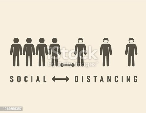istock Social Distancing 1215655357