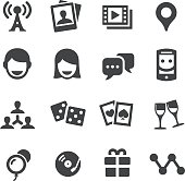 Social Entertainment Icons - Acme Series