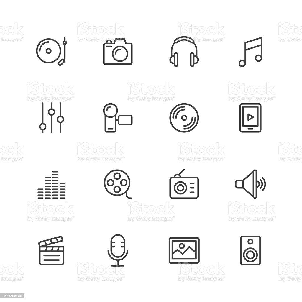 Social Entertainment icons