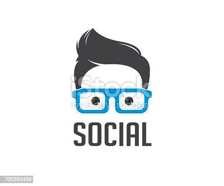 social, geek, nerd, boy