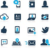 Social Icons // Azure Series