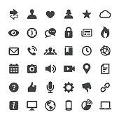 Social Media and Internet Icons - Big Series