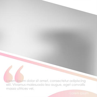Vetores de Modelo De Banner De Mídias Sociais Para Seu Blog Ou Empresa Projeto Bonito Pastelderosa e mais imagens de Beleza