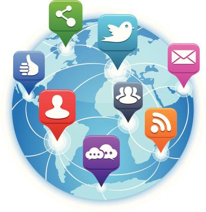 Social Media & Blogging - Around the World